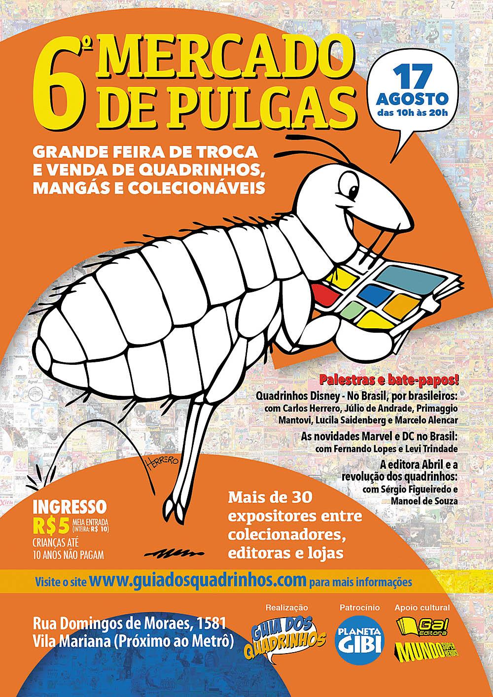 71b8b23d397 Não Perca Nesse Fim de Semana o Sexto Mercado de Pulgas em São Paulo ...